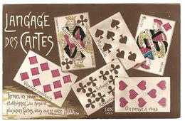 LANGAGE DES CARTES - CARTES À JOUER - Ed. Dix 353 - Cartes à Jouer
