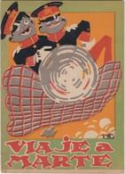 SPAIN ESPAÑA - CUENTO VIAJE A MARTE, ILUSTRACIONES DE K-HITO - SERIE ROSA Nº 1 - EDITORIAL RIVADENEYRA -16 PAGINAS - Boeken Voor Jongeren