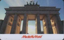 GERMANY Gift-card  Media - Markt - Berlin - Brandenburger Tor - Gift Cards