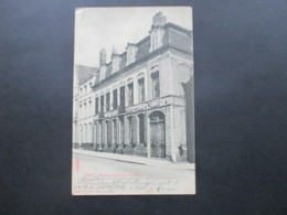 Feldpost 1. WK Ypres Facade Ancienne Rue Au Beurre Editeur Albert Sugg A Gand. Excelsior KD Feldpostexp 52. Reserve - Ieper
