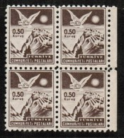 TURKEY  Scott # P 176** VF MINT NH BLOCK Of 4 (Stamp Scan # 480) - Unused Stamps