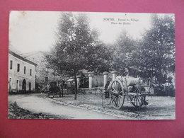 PORTES  ( 30 ) Entrée Du Village - Place Des Ecoles - Other Municipalities