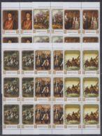 I905. 6x Manama - MNH - Art - Paintings - Washington - Arts