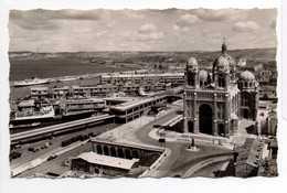 - CPSM MARSEILLE (13) - La Cathédrale, Le Quai De La Joliette Et L'Entrée Des Ports - Editions De France 1081 - - Joliette, Zone Portuaire
