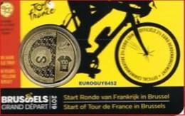 Belgie 2019   2,50 Euro Start Van De Ronde Van Frankrijk In Brussel    Nederlandse Versie  In Coincart  !!! - Belgique
