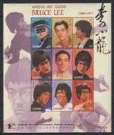 J628. Gambia - MNH - Famous People - Bruce Lee - Célébrités
