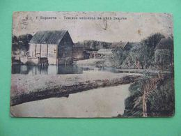 BOROVICHI (Novgorodskaya) 1915 Tinskaya Mill On The River Velgei. Russian Postcard. Russia - Russie