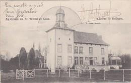 RULLINGEN-KASTEEL-CHATEAU-VERSTUURDE KAART-1903-ZELDZAAM+ IN PERFEKTE STAAT-ZIE DE 2 SCANS ! ! - Borgloon