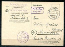 4546 - ALL.BES.NOTAUSGABE BRIT.ZONE - P A 01 Alfeld / Leine, Bedarfsgebraucht - Deutschland