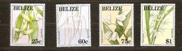 Belize 1994 Yvertn° 1018-1021  *** MNH Cote 10,50 Euro Flore Fleurs Bloemen - Belize (1973-...)