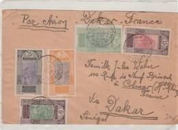 Lettre Par Avion - Guinée Française (1892-1944)