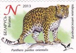 Biélorussie YV 821 MNH 2013 Panthère - Big Cats (cats Of Prey)