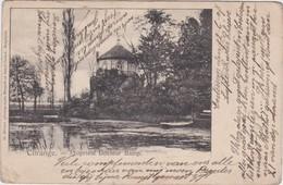KURINGEN-KASTEEL-CHATEAU-PROPRIETE DOCTEUR BAMP-VERSTUURDE KAART-1902-ZELDZAAM-ZIE DE 2 SCANS ! ! - Hasselt