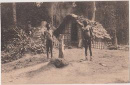 ANCIEN CONGO BELGE..  VILLAGE  LONGINPILA - BATITU - Congo Belga - Otros