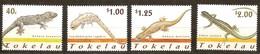 Tokelau 2001 Yvertn° 263-266  *** MNH Cote 10,00 Euro Faune Lèzards Lizzards Hagedis - Tokelau