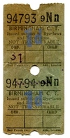 Ticket Birmingham - Chemins De Fer
