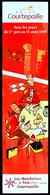 Marque-page Signet : Grill COURTEPAILLE 1999 Signé PICCOLO Avec Découpe Pour Marquer La Page - Marque-Pages