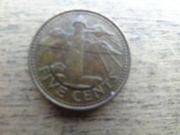 Barbades  5  Cents  1994  Km 11 - Barbados