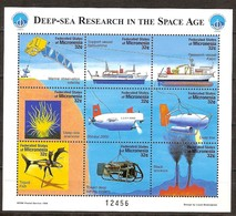 Micronesie Micronesia 1998 Yvertn° 526-534  *** MNH Cote 11,25 Euro Bateaux Ships Boten Sous-marine - Micronésie