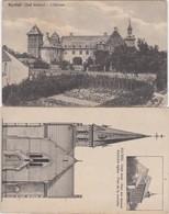 RIJCKEL-RIJKEL-KERK+KASTEEL-CHATEAU-LOTJE VAN 2 KAARTEN-UITGAVE-WOUTERS-VANDENBULCK-AVERBODE+-1912-ZIE DE 2 SCANS ! ! - Borgloon