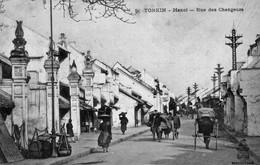 CPA Du Tonkin - Hanoï - Rue Des Changeurs - Edition Dieulefit, N° 5. Non Circulée. TB état. - Viêt-Nam
