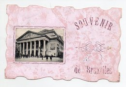 BRUXELLES : Opéra De La Monnaie, Carte Avec Bords Découpés - Bélgica