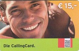 Austria Calling Card, Man - 15€ - Used - Oesterreich