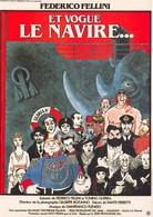 Jacques TARDI - Affiche De Film Et Vogue Le Navire... De Fellini - Bande Dessinée - Comics