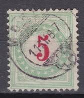 SUISSE  Taxe 1883:  Le  ZNr 17A IIK,  Oblitération Morat Du 11.XII.87 - Portomarken