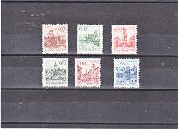 YOUGOSLAVIE 1971 TOURISME Yvert 1312A-1317 NEUF** MNH - 1945-1992 République Fédérative Populaire De Yougoslavie