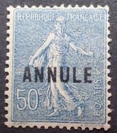 R1934/39 - 1921 - TYPE SEMEUSE LIGNEE - N°161-CI 2 NEUF* - France