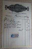 Ancienne Facture - A Lavigne - Cycles Et Motocycles - Béziers - 1916 - France