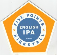 FIVE POINTS BREWING CO (KIRKSTALL, ENGLAND) - ENGLISH IPA - PUMP CLIP FRONT - Signs