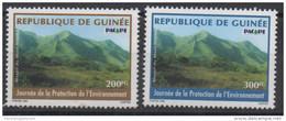 Guinée Guinea 1998 Mi. 2212 (?) Journée De La Protection De L'environnement Umwelt Environmental Protection MontRARE !! - Guinea (1958-...)