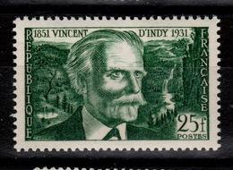 YV 890 N** Vincent D'Indy Cote 2,30 Euros - Francia