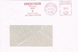 32229. Carta HOMBURG (Alemania Federal) 1975. Franqueo Mecanico  FRESENIUS Pharma, Hepasteril - [7] République Fédérale