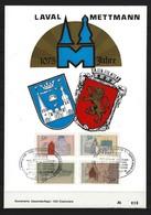 BUND Kreisstadt Mettmann Laval 1075 Jahre 1979 Jubiläum ETB Gestempelt 1500 Exemplare - [7] République Fédérale