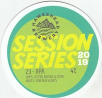 HAWKSHEAD BREWERY (STAVELEY, ENGLAND) - SESSION SERIES 23-XPA 2019 - PUMP CLIP FRONT - Signs