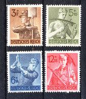 Germania Reich - 1943. Servizio Dei Lavoratori Hitleriani.  Service Of Hitler Workers. MNH, Fresh, Complete Set - Seconda Guerra Mondiale