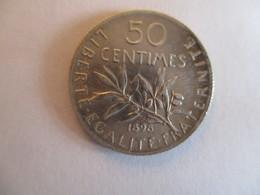 France: 50 Centimes 1898 - A. 1 Centime