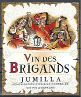 Etiquette D' Espagne  * Vin Des Brigands * - Etiquettes
