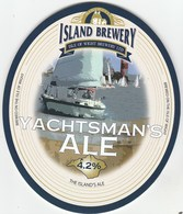 ISLE OF WIGHT BREWERY (SHALFLEET, ISLE OF WIGHT) - YACHTSMAN'S ALE - PUMP CLIP FRONT - Uithangborden
