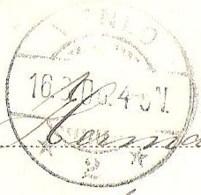 Aankomststempel Venlo 2 Langebalk Met Arcering (LBMN 0063) Op Ansicht VALKENBURG Gezicht Op De Geul 1906 LEES - Postal History