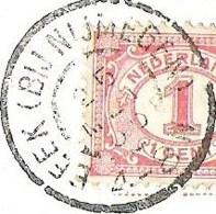 NIJMEGEN Ruïne Valkhof 1905 Grootrond BEEK (BIJ NIJMEGEN) (GRHK 0061) - Nijmegen