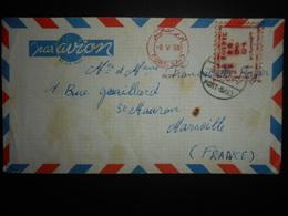 Egypte Lettre De Port-said 1955 Pour Marseille - Égypte