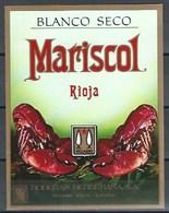Etiquette D' Espagne  * Mariscol, Rioja * - Etiquettes