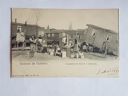40508 -  Environs De  Charleroi  -  Campement  De  Forains  à  Dampremy  Série 18  N°  25 - Charleroi