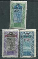 Haute Volta  N ° 33 / 34 + 36  XX  Les 3  Valeurs Surchargées   Sans Charnière  TB - Unused Stamps