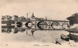 Corbeil 1917 - Le Pont - édit ND 452 - Corbeil Essonnes