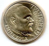 100 Francs 1985  Emile Zola -  état FDC  - Scellée - Francia
